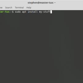 Installing more than one program via terminal (APT)