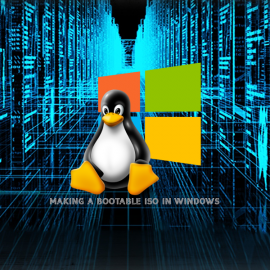 Making a bootable Linux USB (Windows)