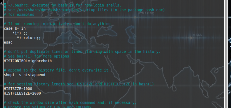 Making terminal simpler with aliases